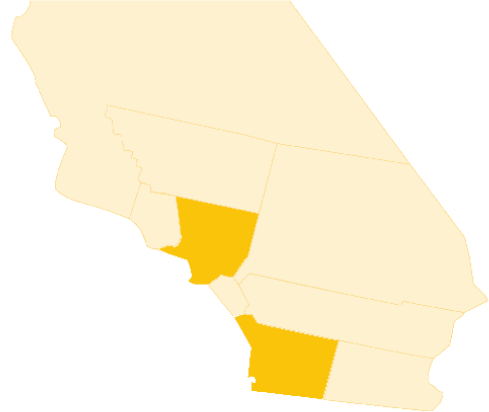 Southern California map symbol