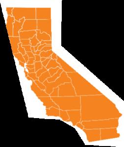 California map symbol